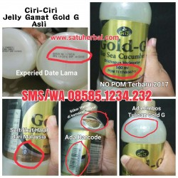 Jual Jelly Gamat Gold-G Asli Original
