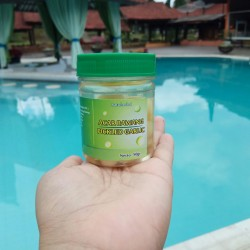 Acar Bawang putih lanang ( laki / tunggal) kemasan mini 50 gram