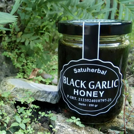 Black Garlic honey satuherbal Madu Bawang Hitam Dr bawang lanang