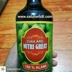 Cuka Apel Nutrigreat
