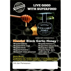 Black Garlic Honey Madu Bawang Hitam