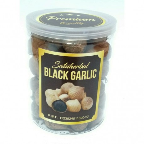 black garlic bawang hitam dari bawang lanang ( tunggal ) 250 gram