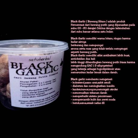 black garlic bawang hitam premium dari bawang putih